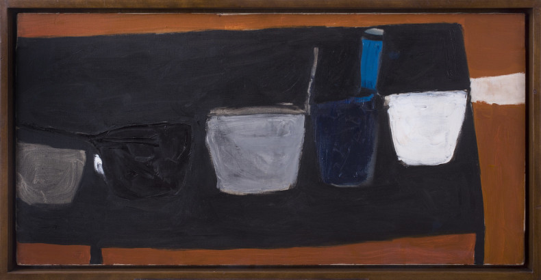 <span class=%22title%22>Still Life on Black Table (II)<span class=%22title_comma%22>, </span></span><span class=%22year%22>1956</span>