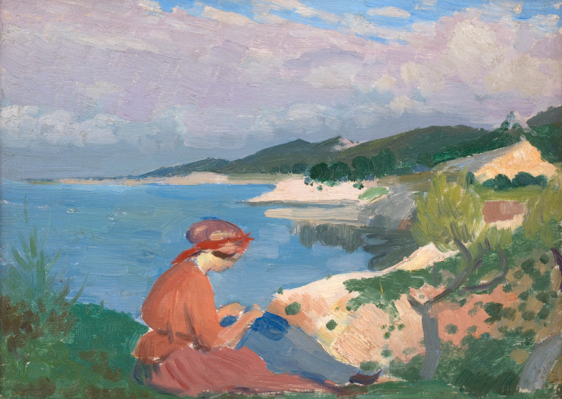 <span class=%22title%22>Lady on Clifftop<span class=%22title_comma%22>, </span></span><span class=%22year%22>1910</span>