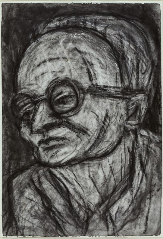 Leon Kossoff, Head of Chaim, 1988