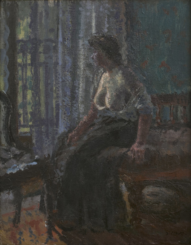 <span class=%22title%22>Woman Seated at a Window<span class=%22title_comma%22>, </span></span><span class=%22year%22>1908-9, c.</span>