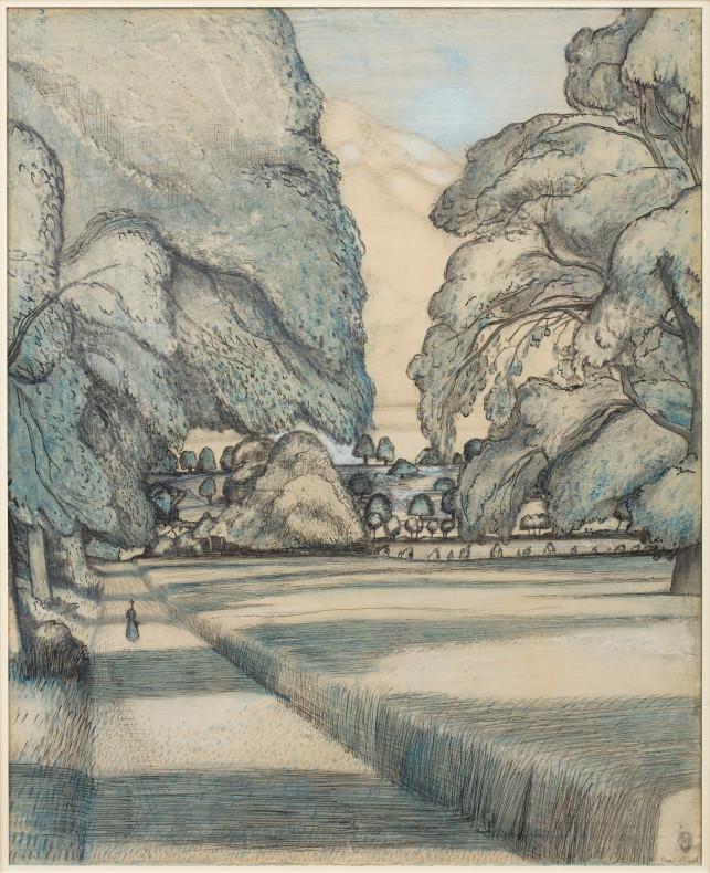 Paul Nash, The Peacock Path, 1912