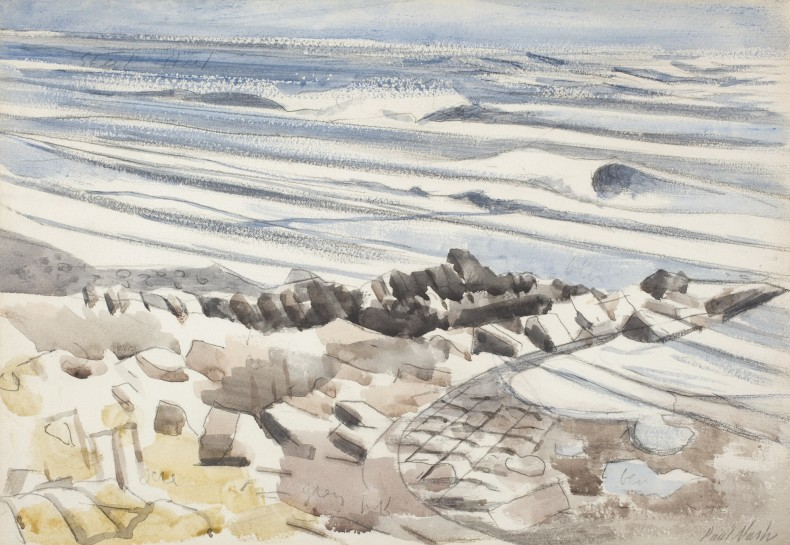 Paul Nash, Study for a Seascape, Undated