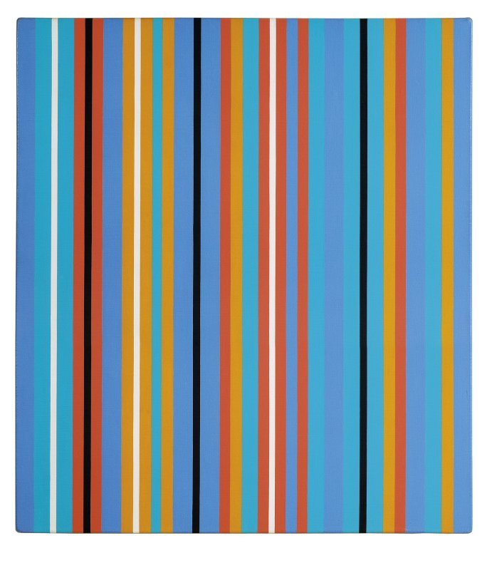 Bridget Riley, KA IV, 1980