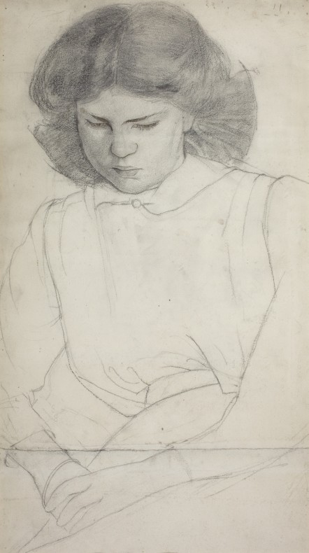 Paul Nash, Barbara, c. 1910