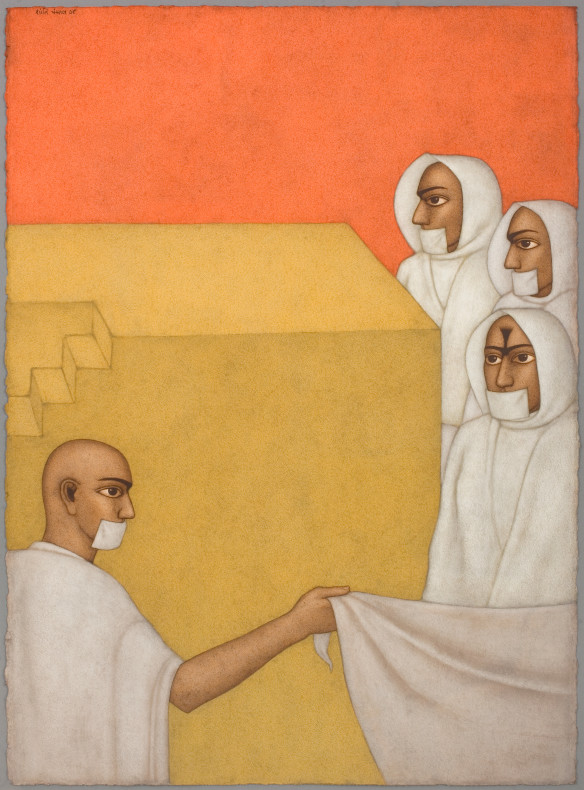 Shanti Panchal, The Jain Monks, 2008