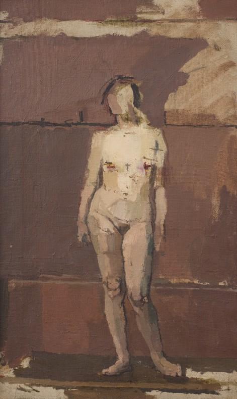 Euan Uglow, Standing Nude, 1954