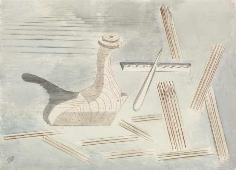 Paul Nash, Comment on Leda, 1935