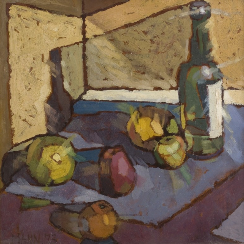 <span class=%22title%22>Still Life of Fruit and Bottles<span class=%22title_comma%22>, </span></span><span class=%22year%22>1973</span>