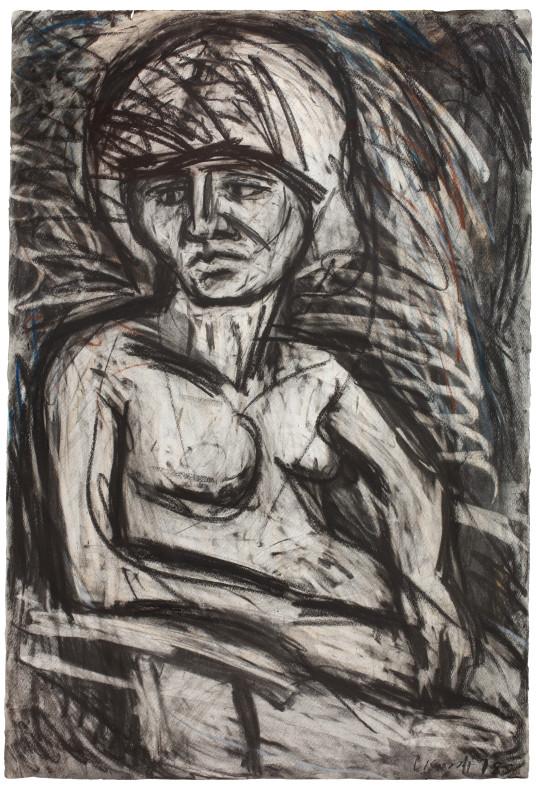 Leon Kossoff, Fidelma No. 2, 1978
