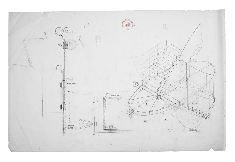 <span class=%22title%22>Staircase detail, part section & axonometric (full-size and 1:10)<span class=%22title_comma%22>, </span></span><span class=%22year%22>2008</span>