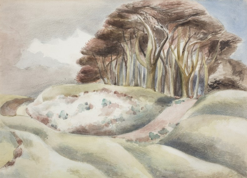 Paul Nash, Wittenham Clumps, 1935