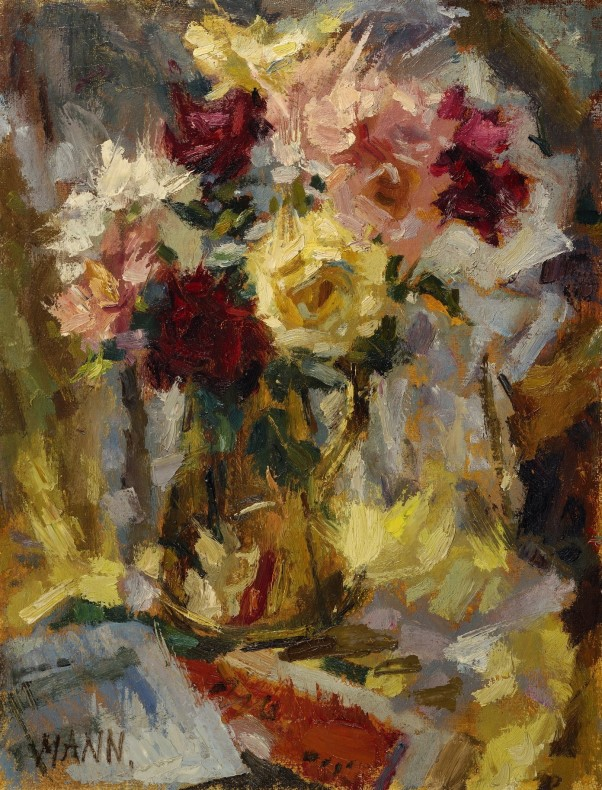 <span class=%22title%22>Sunlit Roses in a Brass Jug<span class=%22title_comma%22>, </span></span><span class=%22year%22>1963</span>