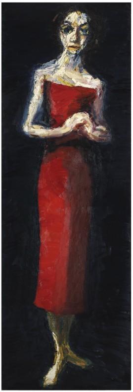 Thomas Newbolt, Red Dress, 2010