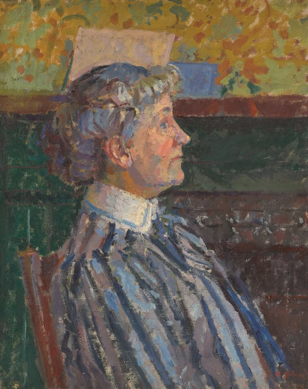 <span class=%22title%22>Portrait of Irene Battiscombe the Artist's Sister (The Striped Blouse)<span class=%22title_comma%22>, </span></span><span class=%22year%22>c.1915</span>