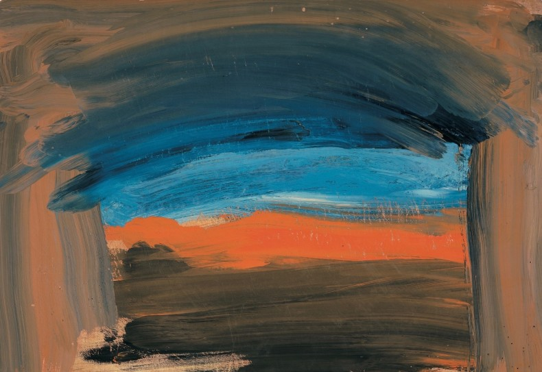 Howard Hodgkin, Transatlantic, 2007