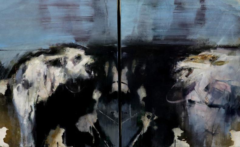 Sarah Shaw, Rorschach Series - Selfie, 2015