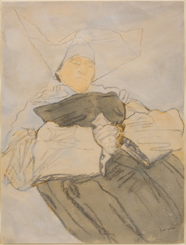 <span class=%22title%22>Sleeping Nun<span class=%22title_comma%22>, </span></span><span class=%22year%22>1916-18 c.</span>