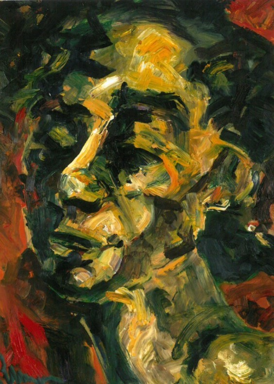 Suzanne Perlman, Self-Portrait  SOLD