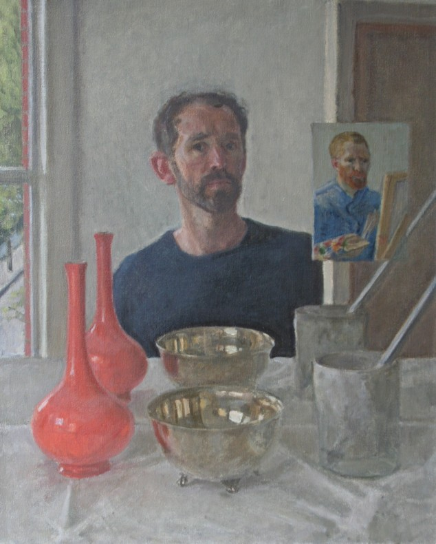 David Caldwell, Studio Self-Portrait  £ 1,800