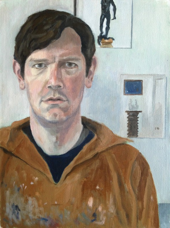 Edward Barlow, Self-Portrait  £ 900