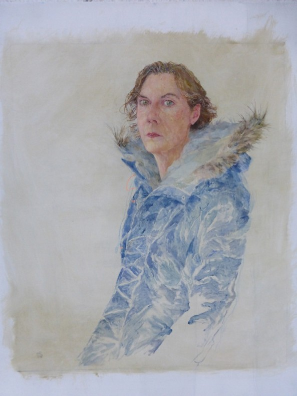 Jennifer McRae RSA, Pensive Self-Portrait  £ 14,000