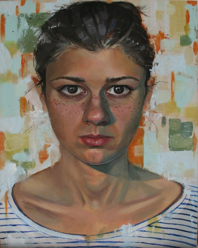 Jessica Debba, Self-Portrait with Stripe  £600