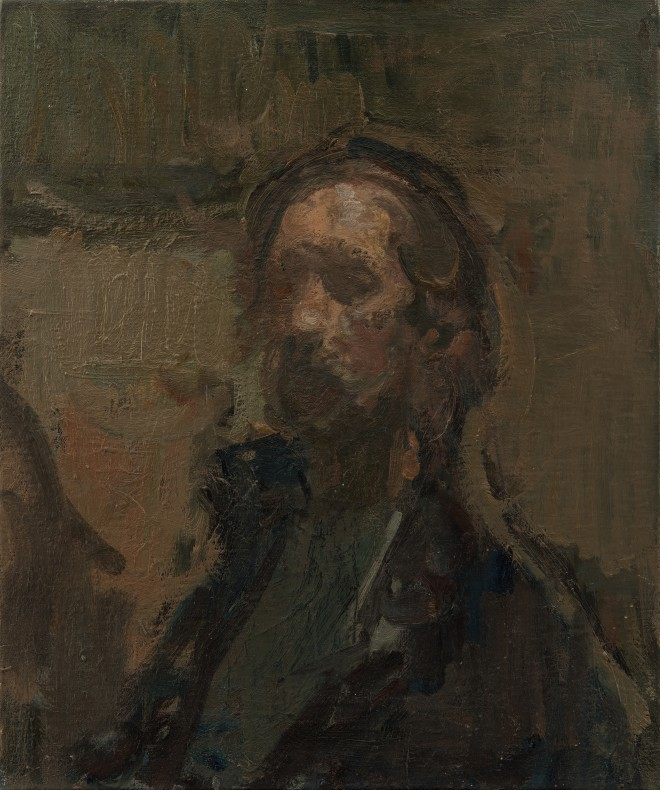 Martin Yeoman, Self-Portrait, age 61  SOLD
