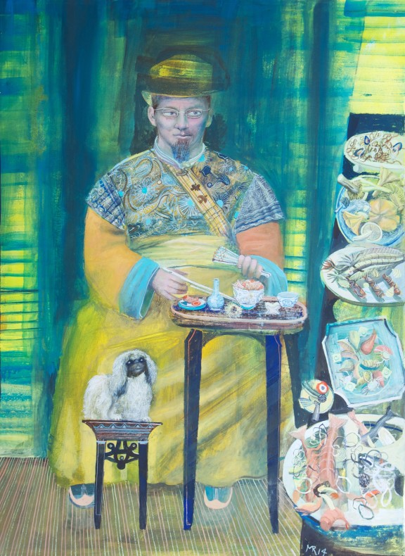 Michael Rooney, Self- Portrait as an Oriental Gourmet  £ 15,000