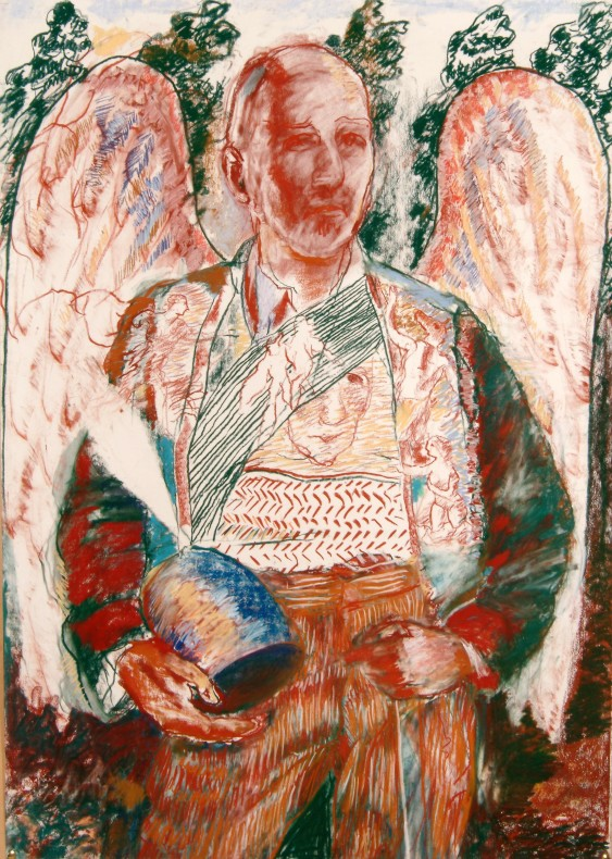 Peter Lazare, Self-Portrait as Saint Prince  £2,000