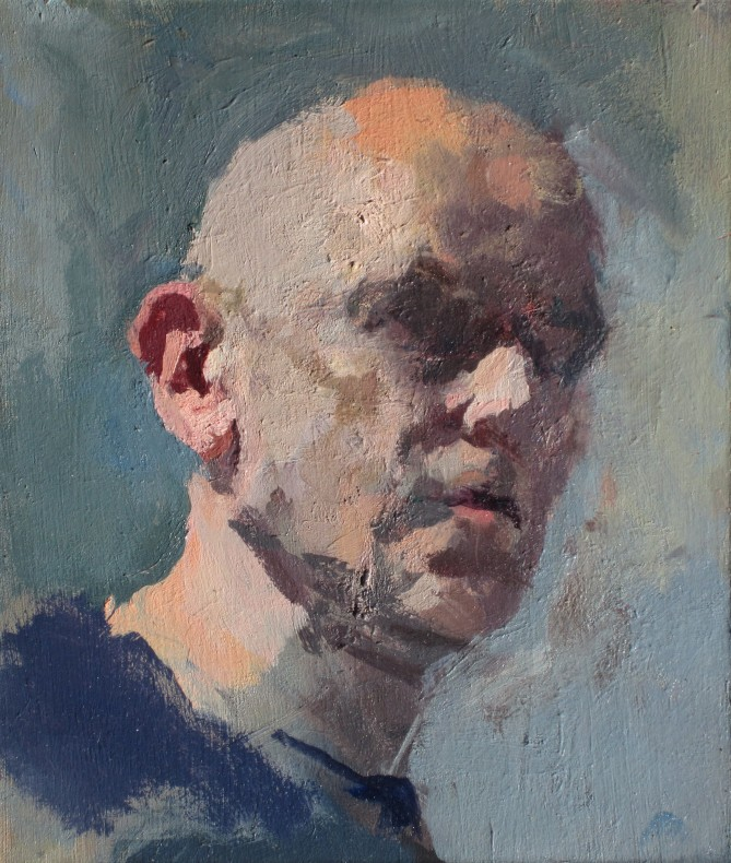 Robert Dukes, Self-Portait at Fifty  £ 4,000