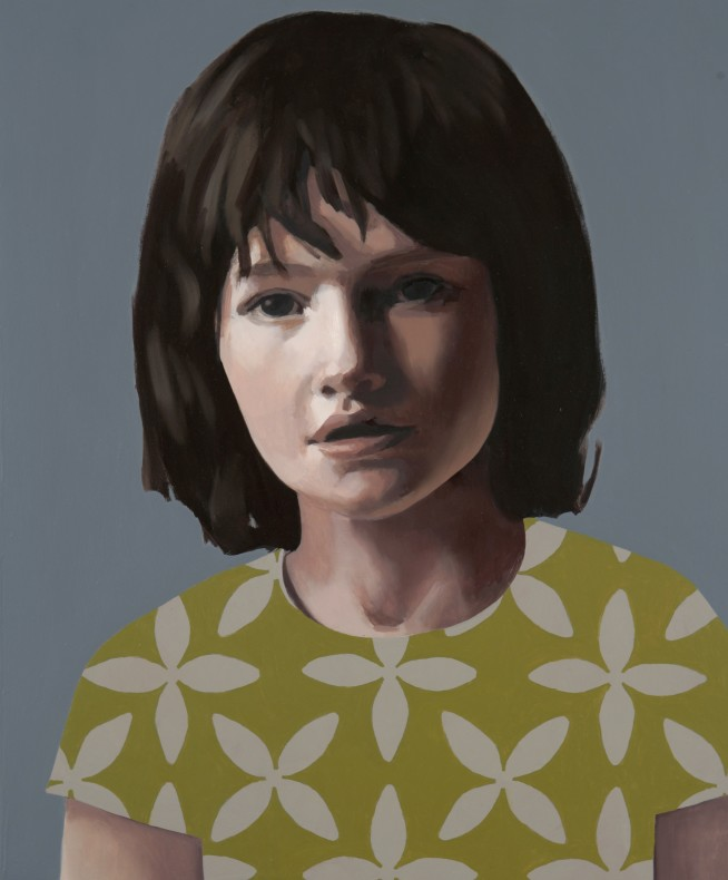 Claerwen James, Self-Portrait when Young  £10,000