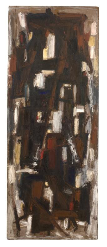 Leo Davy, Standing Figures Deconstructed, 1962