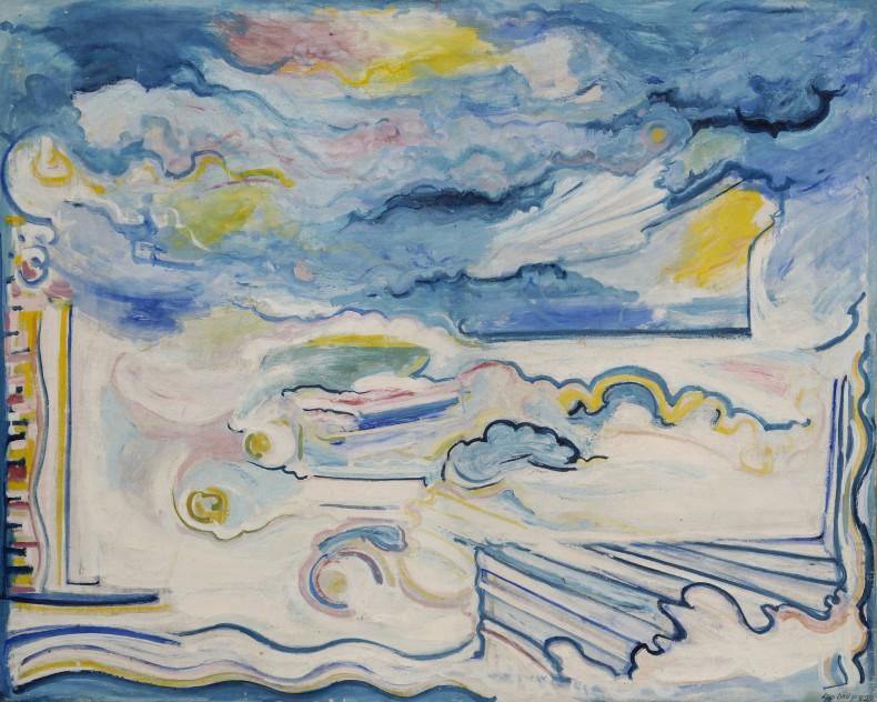 Leo Davy, Large Horizon, 1982