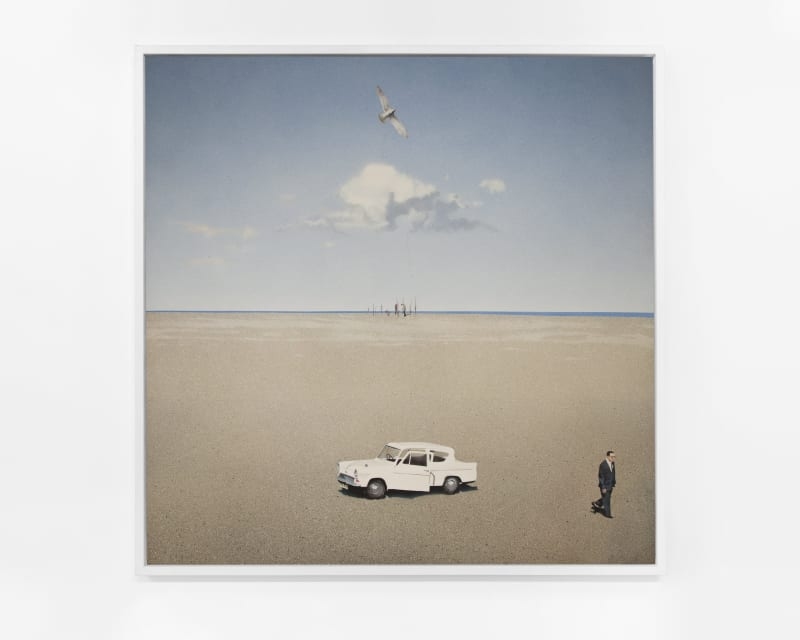 Boyd & Evans Story, 1974 Airbrush on canvas 153 x 153 cm | 60 1/4 x 60 1/4 in Enquire