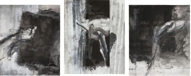 Triptych 三联, 2013, set of three hanging scrolls (plates 35–37)