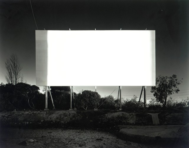 <div class=&#34;artist&#34;><strong>Hiroshi Sugimoto</strong></div> (b. 1948) <div class=&#34;title&#34;><em>Stadium Drive-In, Orange</em>, 1993</div> <div class=&#34;signed_and_dated&#34;>Blindstamped with title, date and number</div> <div class=&#34;medium&#34;>Gelatin silver print</div> <div class=&#34;dimensions&#34;>50.8 x 61 cm; (20 x 24 in.)</div> <div class=&#34;edition_details&#34;>Edition of 25 (#14/25)</div>