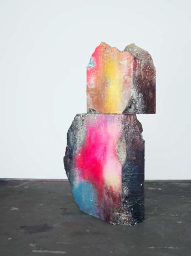 <div class=&#34;artist&#34;><strong>José Parlá</strong></div> (b. 1973) <div class=&#34;title&#34;><em>Modern Ancient</em>, 2017</div> <div class=&#34;medium&#34;>Acrylic and plaster on wood</div> <div class=&#34;dimensions&#34;>152.4 x 91.4 x 25.4 cm; (60 x 36 x 10 in.)</div>