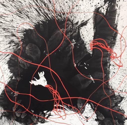 <div class=&#34;artist&#34;><strong>Qin Feng</strong></div> (b. 1961) <div class=&#34;title&#34;><em>Landscape of Desire No. 30</em>, 2013</div> <div class=&#34;medium&#34;>Acrylic on linen</div> <div class=&#34;dimensions&#34;>200 x 200 cm; (78 3/4 x 78 3/4 in.)</div>