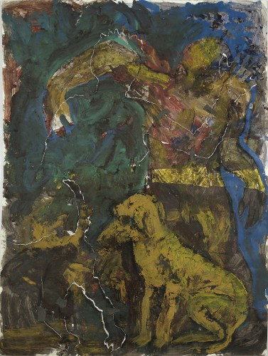<div class=&#34;artist&#34;><strong>Miquel Barceló</strong></div> (b. 1957) <div class=&#34;title&#34;>Untitled, 1983-84</div> <div class=&#34;medium&#34;>Mixed media and collage on paper</div> <div class=&#34;dimensions&#34;>193.5 x 146.5 cm; (76 1/8 x 57 5/8 in.)</div>