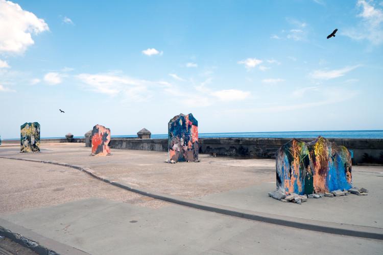 <div class=&#34;artist&#34;><strong>José Parlá</strong></div> (b. 1973) <div class=&#34;title&#34;><em>Havana Biennial </em>, 2015</div>