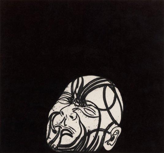 <div class=&#34;artist&#34;><strong>Tony Bevan</strong></div> (b. 1951) <div class=&#34;title&#34;><em>Self Portrait after Messerschmidt (PC113)</em>, 2011</div> <div class=&#34;medium&#34;>Acrylic and charcoal on canvas</div> <div class=&#34;dimensions&#34;>231.1 x 251.5 cm; (91 x 99 in.)</div>