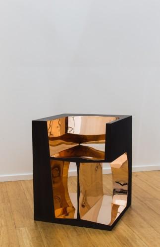 <div class=&#34;artist&#34;><strong>Ron Arad</strong></div> (b. 1951) <div class=&#34;title&#34;><em>2RNOT</em>, 1992</div> <div class=&#34;medium&#34;>Polished and patinated bronze</div> <div class=&#34;dimensions&#34;>76 x 61 x 61 cm; (29 7/8 x 24 1/8 x 24 1/8 in.)</div> <div class=&#34;edition_details&#34;>Edition of 20 + 5 AP</div>
