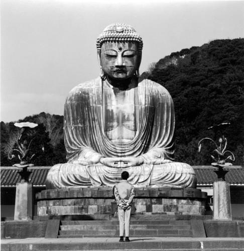 <div class=&#34;artist&#34;><strong>Tseng Kwong Chi</strong></div> (1950 - 1990) <div class=&#34;title&#34;><em>Kamakura, Japan (Buddha)</em>, 1988</div> <div class=&#34;medium&#34;>Silver gelatin print</div> <div class=&#34;dimensions&#34;>paper size: 50.8 x 40.6 cm; (20 x 16 in.); image size: 38.1 x 38.1 cm; (15 x 15 in.)</div> <div class=&#34;edition_details&#34;>Edition of 25 + 5 AP</div>