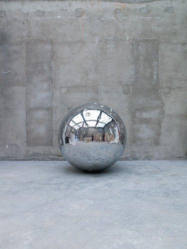 <div class=&#34;artist&#34;><strong>Not Vital</strong></div> (b. 1948) <div class=&#34;title&#34;><em>Moon (No. 2)</em>, 2011</div> <div class=&#34;medium&#34;>Stainless steel</div> <div class=&#34;dimensions&#34;>Ø 170 cm; (66 7/8 in.)</div> <div class=&#34;edition_details&#34;>Edition of 3 + 2 AP (AP 1/2)</div>