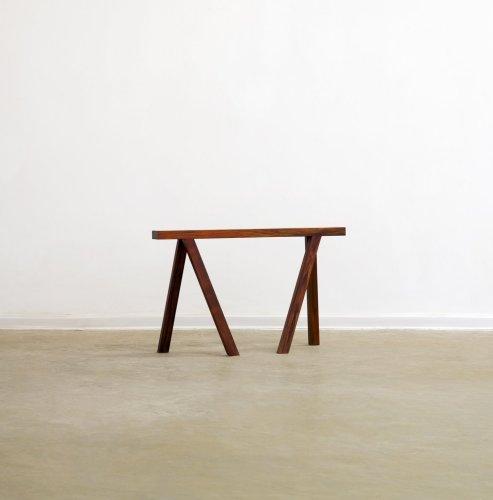 <div class=&#34;artist&#34;><strong>Not Vital</strong></div> (b. 1948) <div class=&#34;title&#34;><em>Walking Benches</em>, 2011-12</div> <div class=&#34;medium&#34;>Wood</div> <div class=&#34;dimensions&#34;>50 x 88 x 25 cm; (19 3/4 x 34 5/8 x 9 7/8 in.)</div>