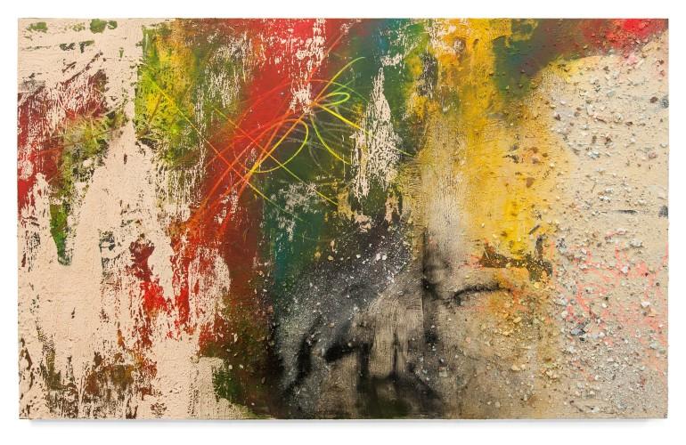 <div class=&#34;artist&#34;><strong>José Parlá</strong></div> (b. 1973) <div class=&#34;title&#34;><em>Writer Mentors / Passage Rights</em>, 2016</div>