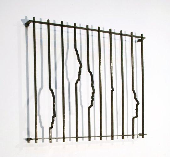 <div class=&#34;artist&#34;><strong>Yoan Capote</strong></div> (b. 1977) <div class=&#34;title&#34;><em>Paranoia I</em>, 2013</div> <div class=&#34;medium&#34;>Bronze</div> <div class=&#34;dimensions&#34;>100 x 118.8 x 19.5 cm; (39 3/8 x 46 3/4 x 7 5/8 in.)</div>