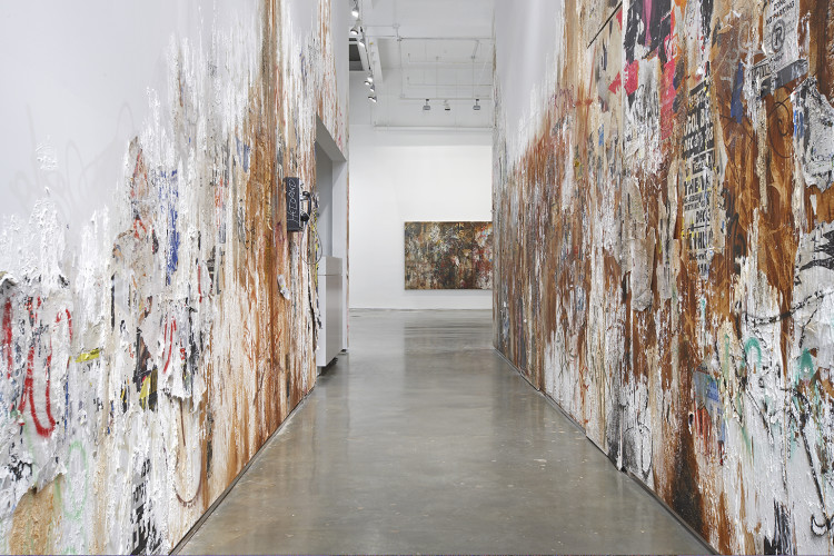 <div class=&#34;artist&#34;><strong>José Parlá</strong></div> (b. 1973) <div class=&#34;title&#34;><em>Walls, Diaries, and Paintings</em></div>