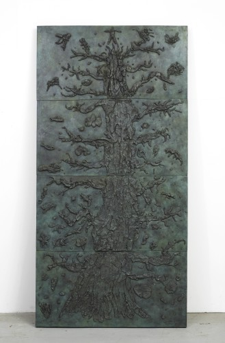 <div class=&#34;artist&#34;><strong>Gavin Turk</strong></div> (b. 1967) <div class=&#34;title&#34;><em>The Pedigree of Man</em>, 2010</div> <div class=&#34;medium&#34;>Patinated bronze</div> <div class=&#34;dimensions&#34;>244 x 122 cm; (96 1/8 x 48 1/8 in.)</div> <div class=&#34;edition_details&#34;>Edition of 8 + 2 AP</div>
