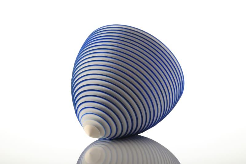 Nicholas Lees, Blue Floating Bowl 20.03, 2020